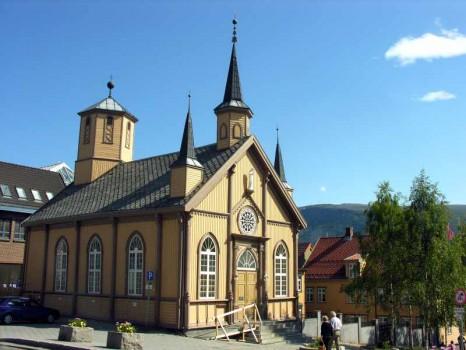 21 - Norvegia - Tromso - Chiesa
