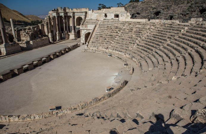 Roman Theater of Beit She'am, Israel
