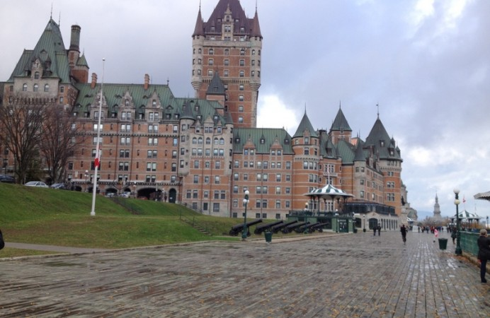 Chateau-Frontenac-from-board-walk