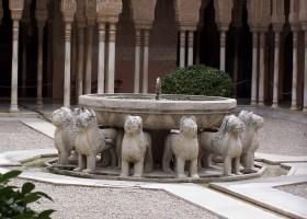 Granada_Alhambra_Fuente_de_los_leones