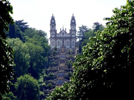 Igreija de Nossa Senhora de Remedios, Lamego, Portugal
