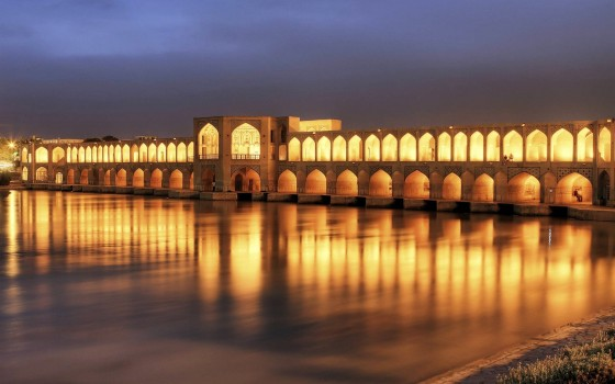 Khaju-Bridge-Isfahan-Iran-Wallpaper