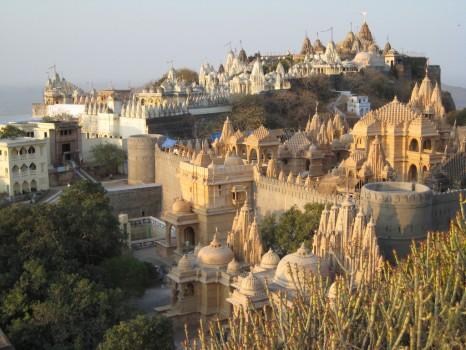 Shatrunjaya hills (1)