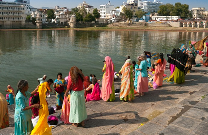 ghats-Udaipur-india