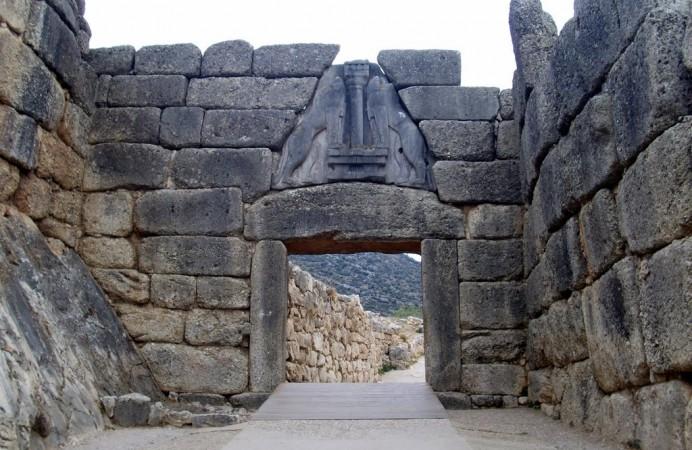 Porta dei Leoni.