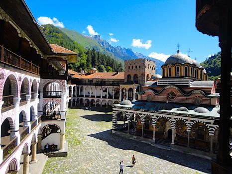 monastero di rila bulgaria