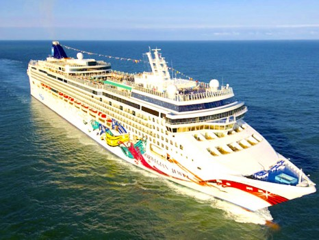 Aerial Norwegian Jewel