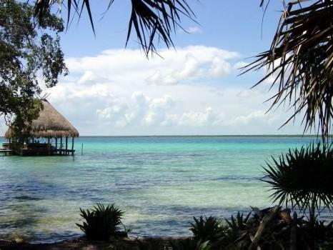 Lac Bacalar Costa Maya Mexico