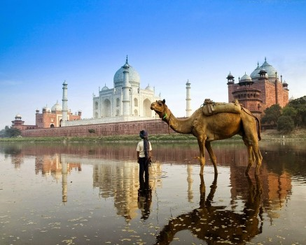 taj mahal pictures at sunset (1)